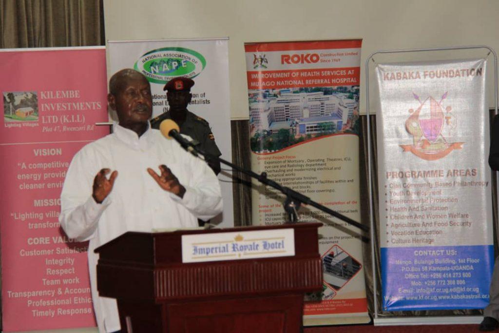 NAPE WINS 2019 UGANDA RESPONSIBLE INVESTMENT (URI) AWARD AS THE BEST ENVIRONMENTAL PROTECTION ORGANISATION