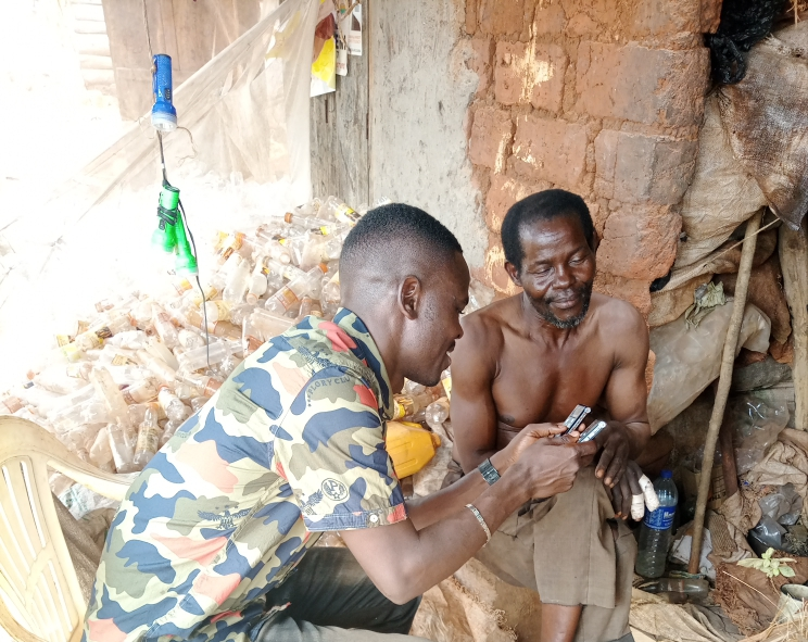 I earn a living from collecting plastics-Kayongo