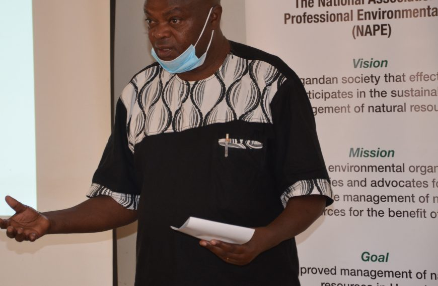 NAPE AND PARTNERS TO MONITOR UGANDA'S FORESTS AGAINST ILLEGAL LOGGING